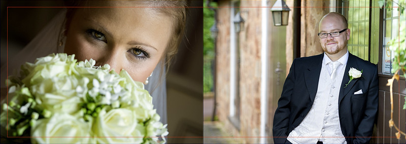 Please not the images are slight de-saturated in colour for fast viewing, the Wedding Album will be full resolution