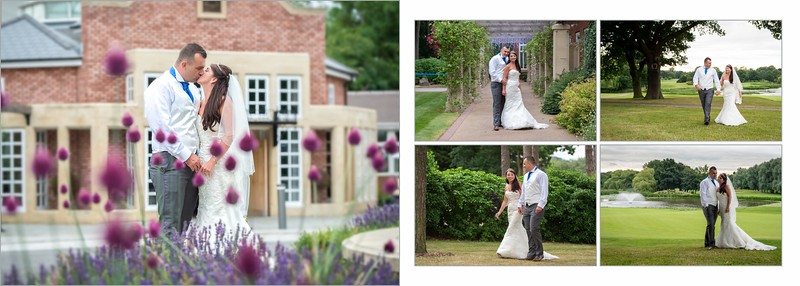 Kerry & Stephen Wedding Album The Belfry  1st