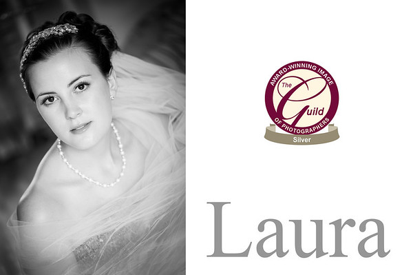 The above photograph of Laura, ( Mrs Dosiak) which is centre page of spread 2 was awarded a Silver Bar by The Guild of Photographers in November 2013.