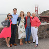 2016-08-18 Benson Hills Rehearsal Lunch Hog Island Oyster Co - Chantel John Hills Bob Jo at the Golden Gate bridge 03