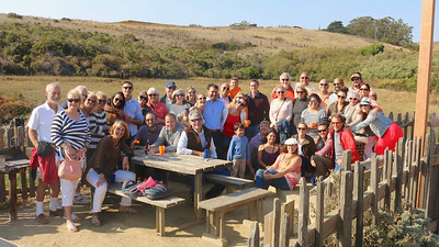 2016-08-18 Benson Hills Rehearsal Lunch Hog Island Oyster Co - Group pic 01