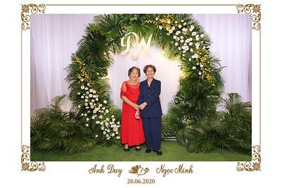Dịch vụ in ảnh lấy liền & cho thuê photobooth tại sự kiện tiệc cưới của Anh Duy & Ngọc Minh | Instant Print Photobooth Vietnam at Anh Duy & Ngoc Minh's wedding