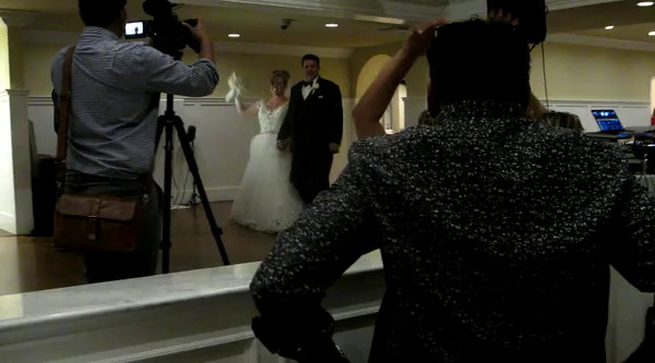 Video of the first dance