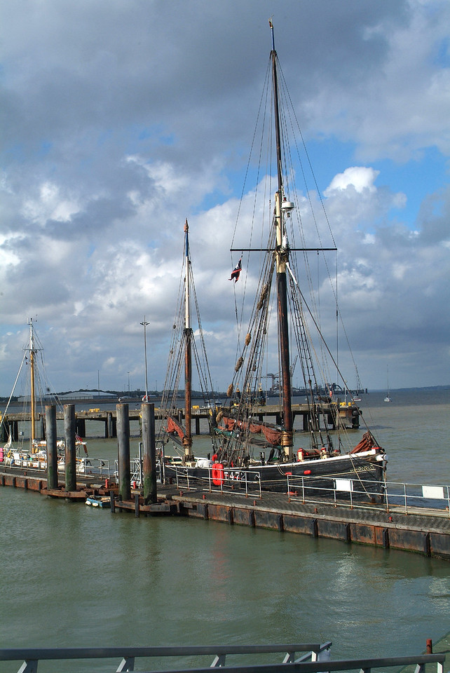 Sailing Barge. Harwich.