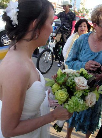 Orchids, green roses, sahara ( tan) roses Beans, succulents-$145