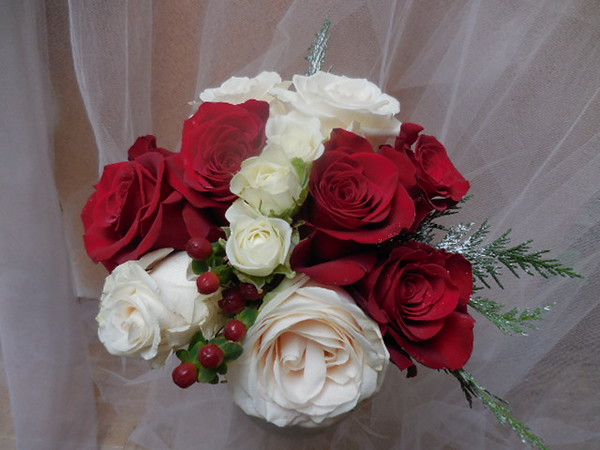 Christmas bouquets $60