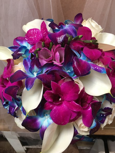 Orchids- callas,     $130