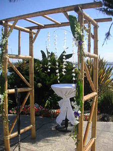 Bali Hai 'floating orchids/ tropical garland -$300