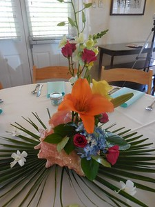 Arrangement in a shell $60ea ( your shell)