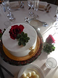 Cake for each table- $15