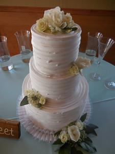 Cake flowers $25