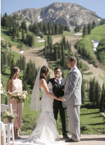 Alta, Utah Wedding