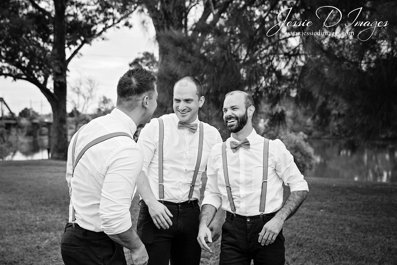 Wedding  photography - Lake Macquarie wedding - groomsmen