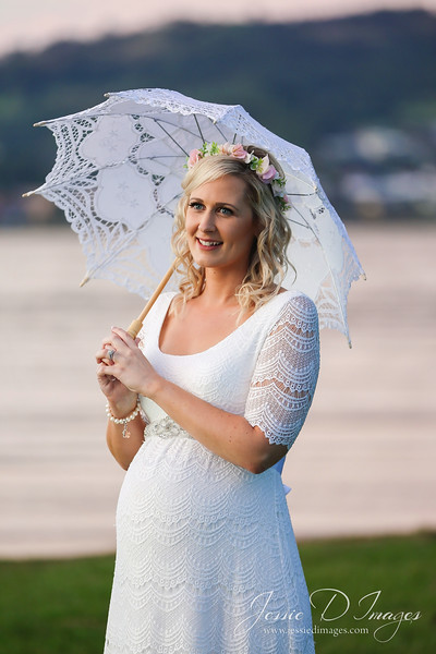 Wedding  photography - Lake Macquarie wedding - bride portrait