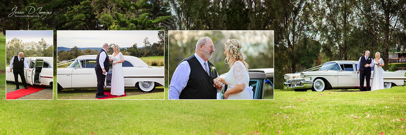 Wedding  photography - Lake Macquarie wedding - father of the bride - ceremony