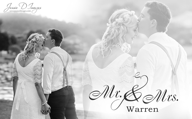 Wedding  photography - Lake Macquarie wedding - bride and groom collage