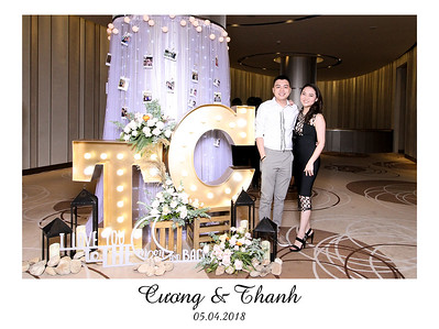Chụp ảnh lấy liền và in hình lấy liền từ photobooth tại tiệc cưới của Cuong & Thanh | Instant Print Photobooth at Cuong & Thanh's Wedding | PRINTAPHY - PHOTO BOOTH VIETNAM