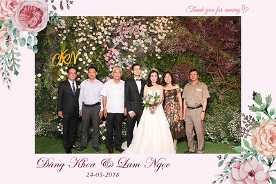 Chụp ảnh lấy liền và in hình lấy liền từ photobooth tại tiệc cưới củaDang Khoa & Lam Ngoc | Instant Print Photobooth at Dang Khoa & Lam Ngoc's Wedding | PRINTAPHY - PHOTO BOOTH VIETNAM