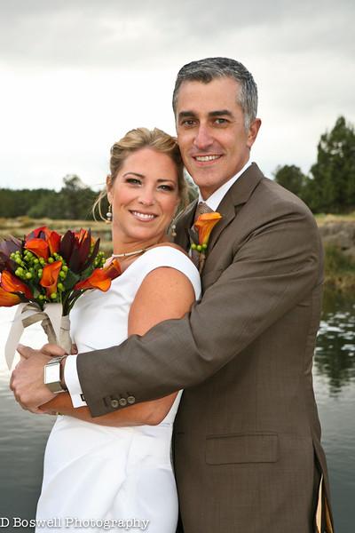 Chris & Tiffany Pronghorn Wedding