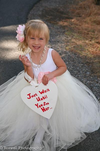 Emilie & Jeremy Wedding / Flower Girl