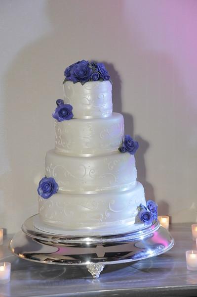 Gabe & Andrea Wedding / Cake