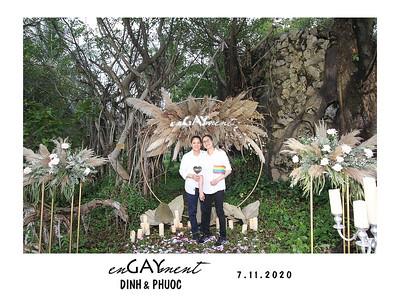 Dịch vụ in ảnh lấy liền & cho thuê photobooth tại Lễ đính hôn của Dinh & Phuoc| Instant Print Photobooth Vietnam at Dinh & Phuoc's Engagement