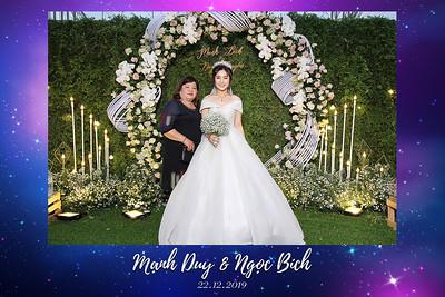Dịch vụ in ảnh lấy liền & cho thuê photobooth tại sự kiện tiệc cưới của Duy & Bích | Instant Print Photobooth Vietnam at Duy & Bich's Wedding