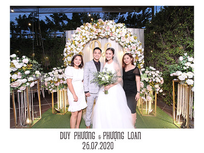 Dịch vụ in ảnh lấy liền & cho thuê photobooth tại Duy Phương & Phượng Loan | Instant Print Photobooth Vietnam at Duy Phuong & Phuong Loan's wedding
