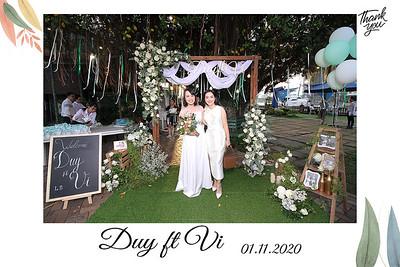 Dịch vụ in ảnh lấy liền & cho thuê photobooth tại Tiệc cưới của Duy & Vi | Instant Print Photobooth Vietnam at Duy & Vi's Wedding