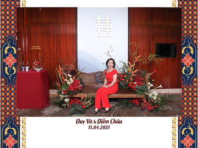 Dịch vụ in ảnh lấy liền & cho thuê photobooth tại sự kiện Tiệc cưới Duy Vũ & Diễm Châu   Instant Print Photobooth Vietnam at Duy Vu & Diem Chau's Wedding