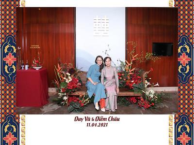 Dịch vụ in ảnh lấy liền & cho thuê photobooth tại sự kiện Tiệc cưới Duy Vũ & Diễm Châu | Instant Print Photobooth Vietnam at Duy Vu & Diem Chau's Wedding