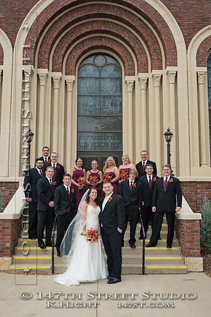 Engagement Photo InWedding Portraits at St Joseph's Catholic Church in Milford Iowa - Spirit Lake Iowa Photographer
