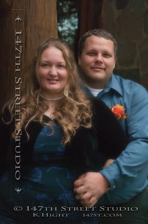 Wedding Portrait ~ Gull Point State Park ~ Milford Iowa 51351