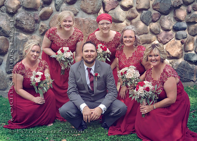 Mini-Wakan State Park wedding photohraphy - Spirit Lake Iowa Photographer