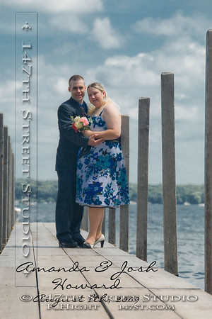 Wedding Portrait ~ Gull Point State Park ~ Milford Iowa 51351