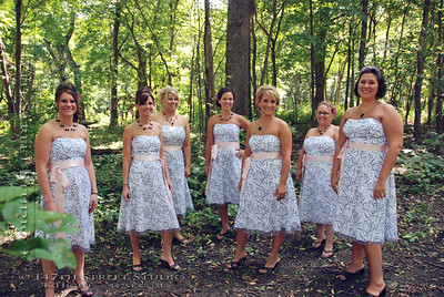 Jackson County MN 56143 ~ Outdoor Wedding Portraits ~ Loon Lake