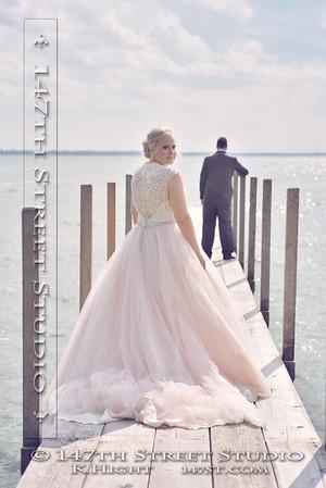 Mini-Wakan State Park wedding photohraphy - Spirit Lake Iowa Photographer