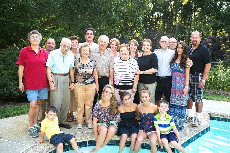Calabrese Family Summer Reunion Photography Mendham NJ
