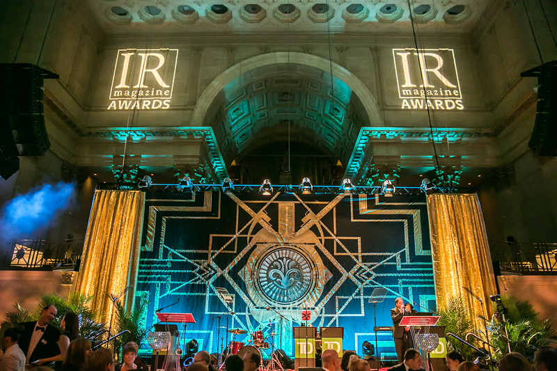 IR Magazine Awards 2014 Party at NY Cipriani Wall St with BAH Productions Inc