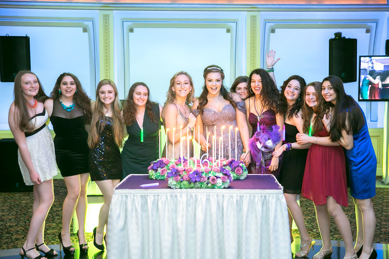 sweet 16 party photography NJ NY