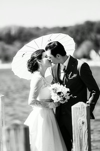 Bride and Groom at the Boathouse | Rayan Anastor Photography | Old Mission Wedding Photographer 2
