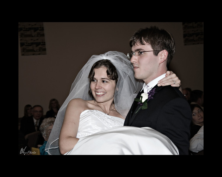 Aaron claims his bride