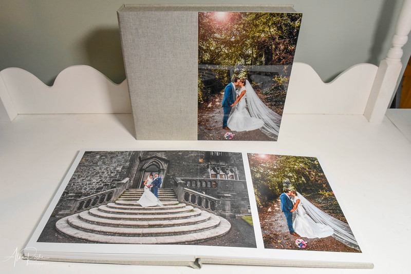 "Kilkenny Castle Wedding - layflat book 12"" x 12"""