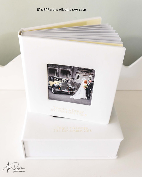 Downsize parent Albums c/w case