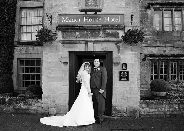 Manor House Hotel, Moreton on Marsh Wedding