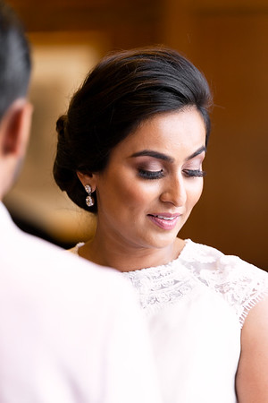 Beautiful Bride during Ceremony