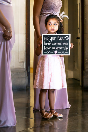 Flower Girl with a Love of Your LIfe Sign