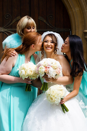 Kisses from the Bridesmaids
