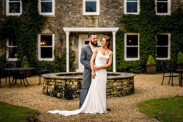 Claire & Scott Dowell at Hipping Hall