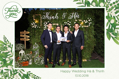 Chụp ảnh lấy liền và in hình lấy liền từ photobooth/photo booth tại tiệc cưới của Hà & Thịnh | Instant Print Photobooth/Photo Booth at Hà & Thịnh's Wedding | PRINTAPHY - PHOTO BOOTH HO CHI MINH | PHOTO BOOTH VIETNAM